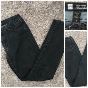 Mossimo Black Denim Jegging